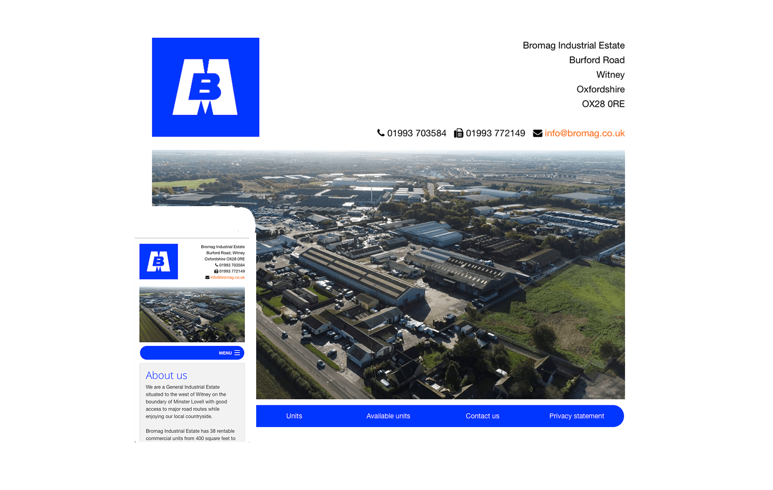Bromag website image